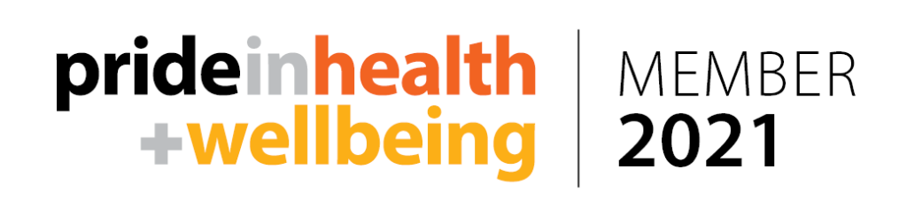 Pride in health + wellbeing